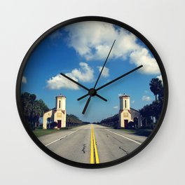 Your Adventure Awaits Wall Clock