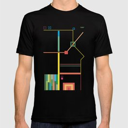 Colors, Rectangles, Squares and Lines T-shirt
