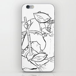Ninja Master of Illusion iPhone Skin