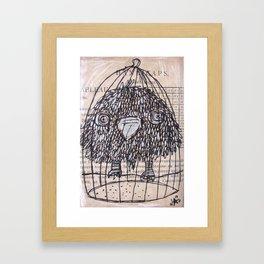 PASSERO 3 Framed Art Print