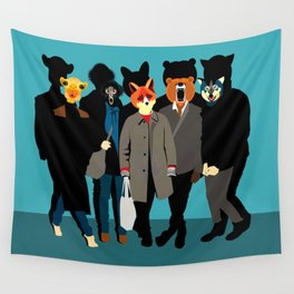 The gang Wall Tapestry