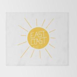 East Coast Sun Throw Blanket