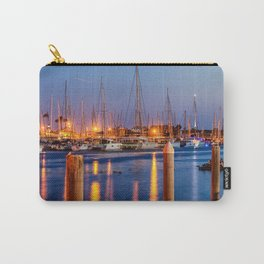 Marina Del Rey Harbor At Night Carry-All Pouch