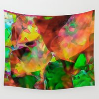 chaos Wall Tapestries featuring Chaos by Ray Cowie