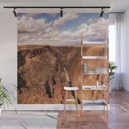 Rio Grande Gorge - Landscape on Autumn Day Near Taos, New Mexico Wall Mural