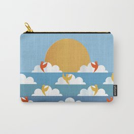 Birds Flying High Carry-All Pouch