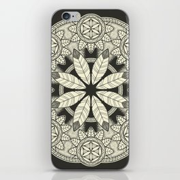 Mandala 3 iPhone Skin