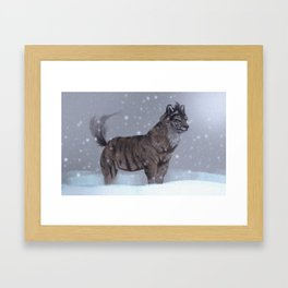 Tiger Wolf! Framed Art Print