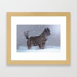 Tiger Wolf! Framed Art Print