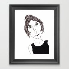 Isbelle Framed Art Print
