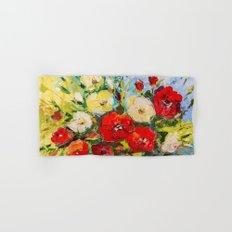 Bright bouquet Hand & Bath Towel