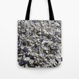 Shucked Oyster Shells Tote Bag