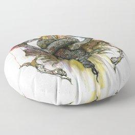 The Antagonist Floor Pillow