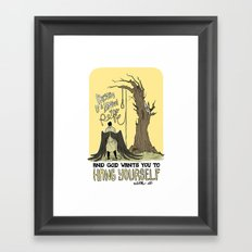 It's Simple Framed Art Print