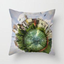 Wasserburg-am-Inn (Bavaria/Germany) Throw Pillow