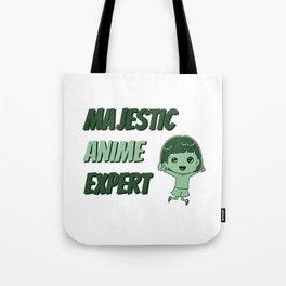 Majestic Anime Expert Tote Bag