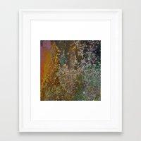 rustic Framed Art Prints featuring Rustic by Herzensdinge