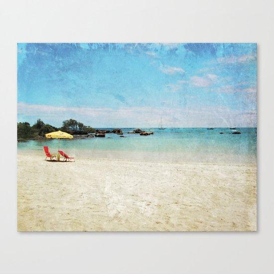 sizzle Canvas Print