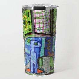 Blue Guy Travel Mug