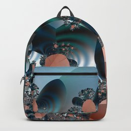 Hiding in a Fantasy Waterworld -- Fractal art by Twigisle at Society6 Backpack