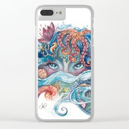 SEA NYMPH Clear iPhone Case