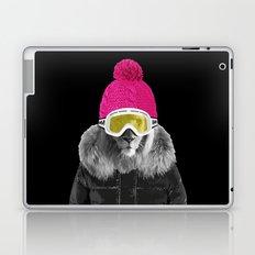 LION SURFER POWDER POWER Laptop & iPad Skin