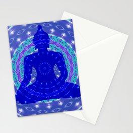 Blue Medicine Buddha Mandala Stationery Cards