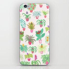 Tropical Houseplants iPhone Skin