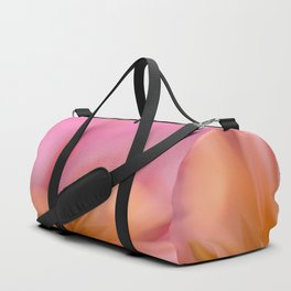 Abstract Flower In Pink And Yellow Color #decor #society6 #homedecor Duffle Bag