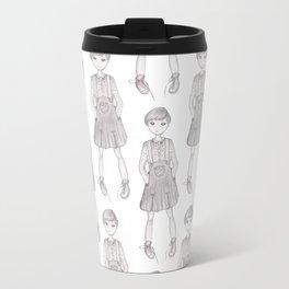 Jumper girl Travel Mug