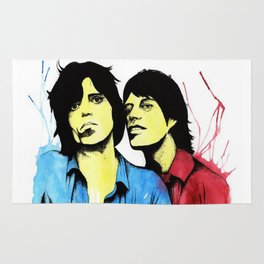 Keith & Mick Rug