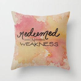 Redeem Throw Pillow