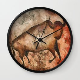bull a la Altamira Wall Clock