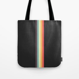 Minimal Classic Rainbow Retro Stripes - Tipua Tote Bag