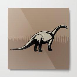 ChocoPaleo: Brontosaurus Metal Print