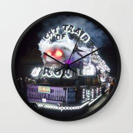 Night Train of Horror Wall Clock