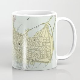 Vintage Map of Portland Maine (1889) Coffee Mug