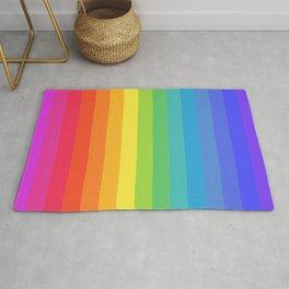 Solid Rainbow Rug