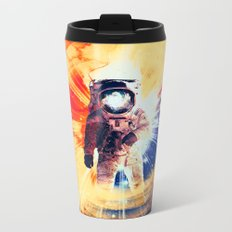 With Love From Space Metal Travel Mug