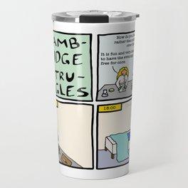 Cambridge Struggles: Summer job Travel Mug