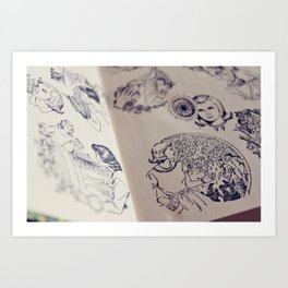 Nancy Drew Art Print