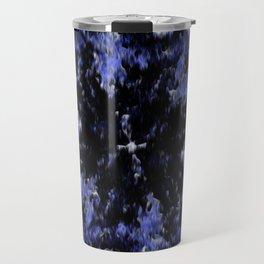 Polygon (Blue series #2) Travel Mug