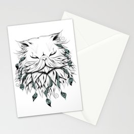 Poetic Persian Cat Stationery Cards
