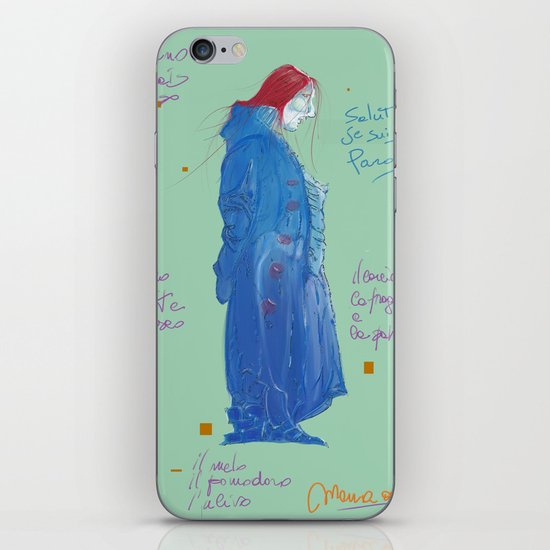 Pardo' iPhone & iPod Skin