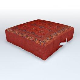 N194 - Red Berber Atlas Oriental Traditional Moroccan Style Outdoor Floor Cushion