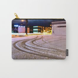 Tracks in the Snow Carry-All Pouch