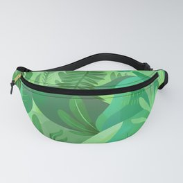 Pride Flag Colors: GREEN / nature Fanny Pack