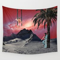 chill Wall Tapestries featuring Chill by Liall Linz