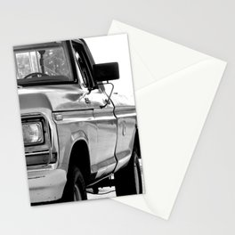 I Side With The Truck Stationery Cards