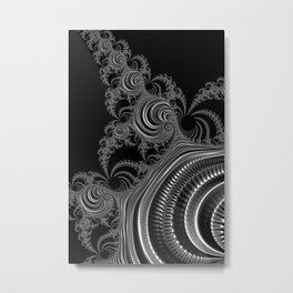 Zippers Metal Print